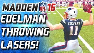 getlinkyoutube.com-QUARTERBACK EDELMAN THROWING LASERS! - Madden 16 Ultimate Team