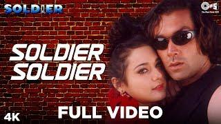getlinkyoutube.com-Soldier Soldier Meethi Baaten - Soldier | Bobby Deol & Preity Zinta | Kumar Sanu & Alka Yagnik