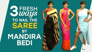 Mandira Bedi: 3 fresh ways to nail the saree | Fashion | Pinkvilla | Bollywood