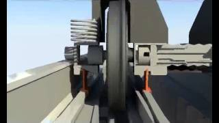 getlinkyoutube.com-Variable gauge system Talgo RD 2008