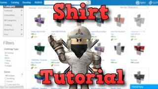 getlinkyoutube.com-How to make a Shirt/Pants | ROBLOX | 2016 (Windows 10!)
