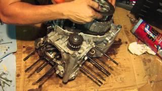 getlinkyoutube.com-Ducati monster 796 engine disassemble