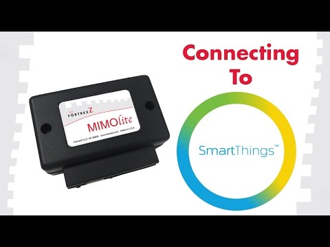 How To Connect To SmartThings: FortrezZ MIMOlite