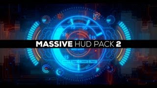 After Effects Template - Massive HUD Pack 2 - AE Template