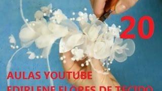 getlinkyoutube.com-AULA 20: ARRANJO DE BOTÕES DE ROSAS E FLORES DE LARANJEIRAS P/ CABELOS DE NOIVA (atendendo pedidos)