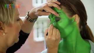 getlinkyoutube.com-Tutorial: Auffälliges Halloween Hexen Make-Up