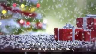getlinkyoutube.com-Tutorial: creating realistic falling snow with 3ds max, thinking particles, vray