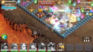 getlinkyoutube.com-Castle Clash Insane Dungeon 2-1 (no mino 3 flame)