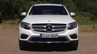 getlinkyoutube.com-Mercedes-Benz GLC 350 e 4MATIC Diamond White - World Premiere