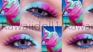 getlinkyoutube.com-Tutorial de maquillaje: Ojos de Helado - Juancarlos960