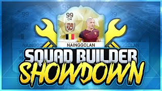getlinkyoutube.com-FIFA 16 SQUAD BUILDER SHOWDOWN!! vs AJ3FIFA! IF NAINGGOLAN 80+ ALL STATS! Squad Builder Duel