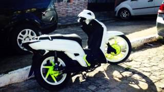 getlinkyoutube.com-Novo Visual da Branca de neve JET 50cc do Junior Dias...