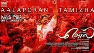 Mersal   Aalaporaan Thamizhan Tamil Video  Song HD 720p  1080p   Vijay   A R Rahman   Atlee
