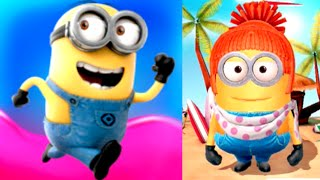 getlinkyoutube.com-LUCY MINION! Despicable Me: Minion Rush Jelly Lab Gameplay