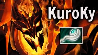 getlinkyoutube.com-KuroKy Shadow Fiend Eul's  Gameplay MMR Dota 2 Highlights