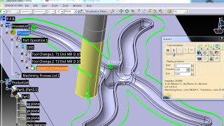 Catia mold machining : Runner for plastic molds step 1