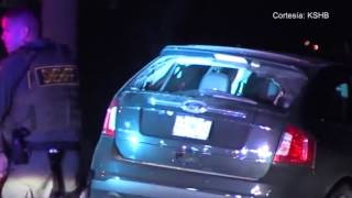 Un robo en KCMO término en una persecución policial a alta velocidad