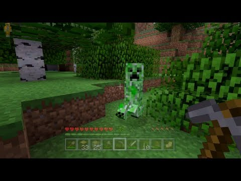 Minecraft Xbox - Quest To Kill The Ender Dragon - Creeper In My Face! - Part 4