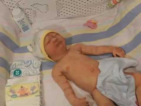 Full body Silicone Kylah baby girl not reborn doll