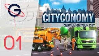 getlinkyoutube.com-CITYCONOMY : Ramassage et Recyclage des déchets  | Let's Play #01 FR