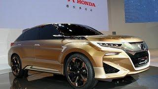 getlinkyoutube.com-Honda Concept D ホンダの新型SUV、北京モーターショーでお披露目!「コンセプトD」の市販車名は「UR-V」?
