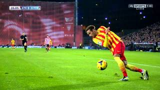 getlinkyoutube.com-Neymar vs Athletic Bilbao 13-14 HD By Geo7prou