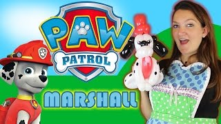MARSHALL from Paw Patrol Balloon Animal Tutorial!