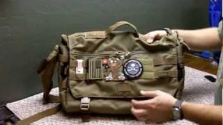 getlinkyoutube.com-5.11 Tactical Rush Delivery Messenger Bag