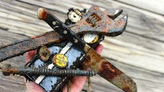 getlinkyoutube.com-Magnet Fishing - Treasure & relic hunting with magnets