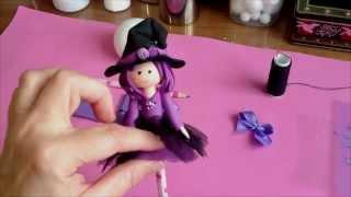 getlinkyoutube.com-Brujita Kristina toys colors, 1ª parte
