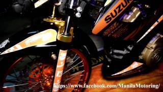 getlinkyoutube.com-Customized Suzuki Raider 150R - Dark setup!