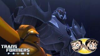 getlinkyoutube.com-Transformers Prime: The Game - Bumblebee Vs. Megatron - SoooMungry Vs. Erictron