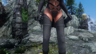 getlinkyoutube.com-Skyrim Mod Review 66 - HDT Bikini and KS Jewelry - Series: Boobs and Lubes