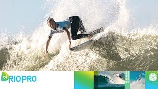 Fitzgibbons vs. Nikki Van Dijk vs. Ho - Round One, Heat 1 - Oi Rio Women's Pro 2018