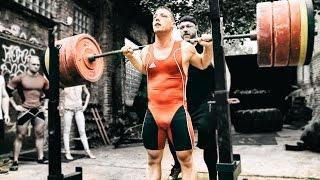 getlinkyoutube.com-Squat Session Bodybuilder vs Weightlifter vs Powerlifter (eng sub)