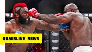 getlinkyoutube.com-Kimbo Slice vs Dada Dada BREAKING Dada 5000 In Critical Condition Bellator 149 Full Fight Highlights