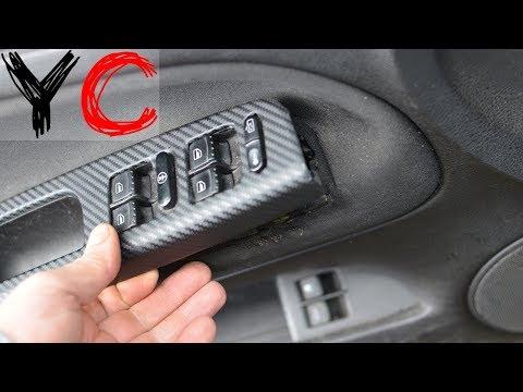 Снятие карты/обшивки водительской двери Volkswagen Passat B5/Фольксваген Пассат Б5