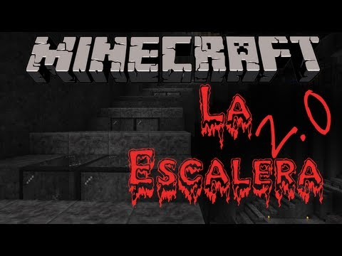 MINECRAFT - HORROR - La escalera - Sustos con FACECAM