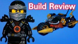 getlinkyoutube.com-고스트 닌자고 블래스터 바이크 Lego 70733 Cole's Blaster Bike - Lego stop motion  [지호토이TV]