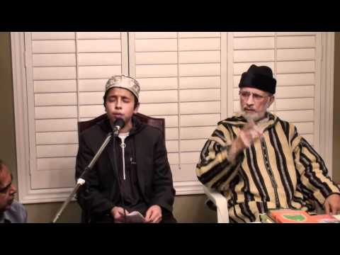 Shaykh Hammad Mustafa Qadri Grandson of Huzoor Shaykh ul Islam Reciting Qaseeda Burda in two styles