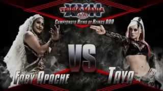 Taya Valkyrie vs Faby Apache - TripleMania XXII