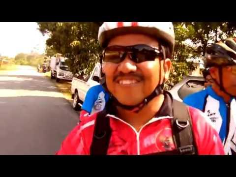 Gowes sepeda MTB Di Riam Merasap Daerah Sanggau Ledo