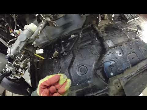 Hyundai Trajet замена радиатора отопителя 1 часть