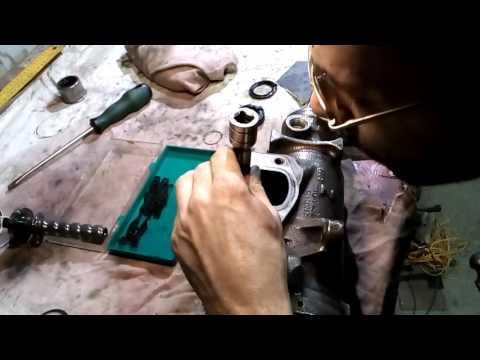 Ремонт рулевого редуктора Jeep ZJ - заколачиваем требуху