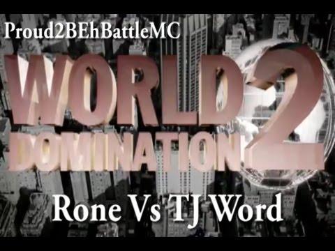 KOTD - Rone vs TJ Word (Proud2BEhBattleMC WD2)
