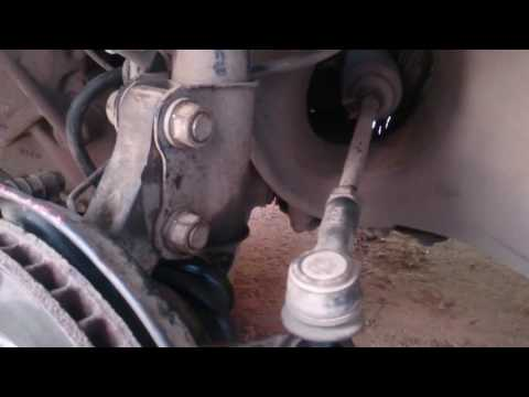 Расположение рулевых наконечников в Тойота Матрикс