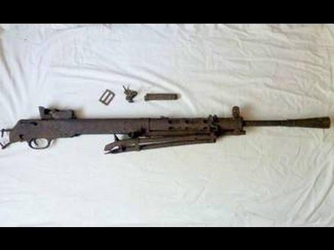 Пулемет Дегтярева и другие находки