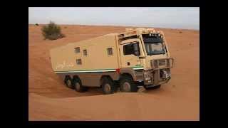 getlinkyoutube.com-Trailer for OFF Road Trips شاحنة مجهزة لرحلات البر والصيد والمقناص