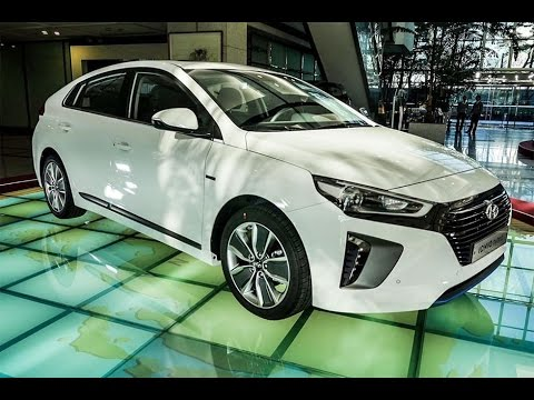 Hyundai Ioniq 2016 — корейский ответ для Toyota Prius