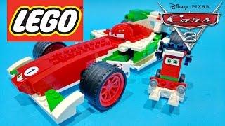 Disney Pixar Cars 2 Video Ultimate Francesco Bernoulli & Pittie Crew LEGO Toys - Juguetes de Cars 2